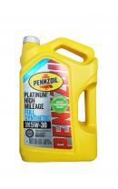 Моторное масло PENNZOIL Platinum High Mileage Full Synthetic Motor Oil SAE 5W-30 (Pure Plus Technology) (4,73л)