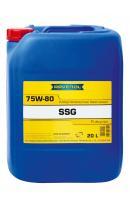 Трансмиссионное масло RAVENOL SSG SAE 75W-80 (20 л) new