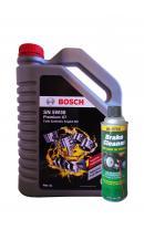 Набор BOSCH Premium X7 Fully Synthetic Engine Oil SN SAE 5W-30 (4л) + MASTERS BCN-20-Master Аэрозольный. (0,425л)