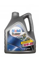 Моторное масло MOBIL Super 2000 X1 SAE 10W-40 (4л)