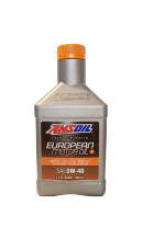 Моторное масло AMSOIL European Car Formula Full-SAPS Synthetic Motor Oil SAE 0W-40 (0,946л)