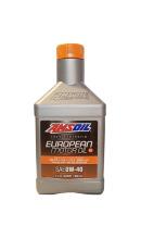 Моторное масло AMSOIL European Car Formula Full-SAPS Synthetic Motor Oil SAE 0W-40 (0,946л)