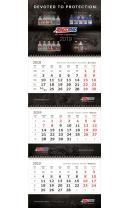 Календарь настенный AMSOIL на 2019 год
