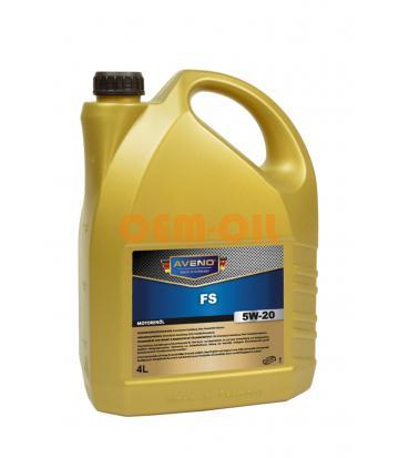 Моторное масло AVENO FS SAE 5W-20 (4л)