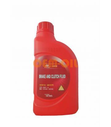 Тормозная жидкость HYUNDAI Brake and Clutch Fluid DOT-3 (1л)