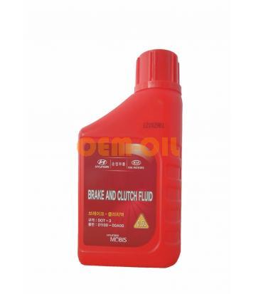 Тормозная жидкость HYUNDAI Brake and Clutch Fluid DOT-3 (0,5л)