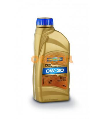Моторное масло RAVENOL VSW SAE 0W-30 ( 1л) new