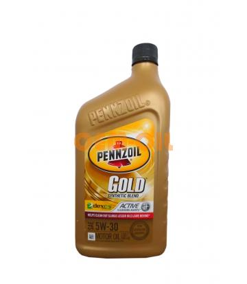 Моторное масло PENNZOIL Gold Synthetic Blend SAE 5W-30 (0,946л)