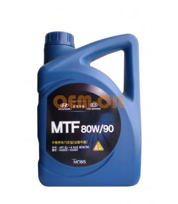 Трансмиссионное масло для МКПП HYUNDAI MTF SAE 80W-90 (4л)