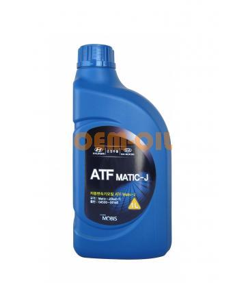 Трансмиссионное масло для АКПП Hyundai ATF MATIC-J RED-1 (1л)