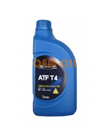 Трансмиссионное масло для АКПП Hyundai ATF T4 (1л)