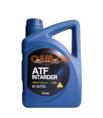 Трансмиссионное масло для АКПП HYUNDAI ATF Intarder SAE 75W-80 (4л)