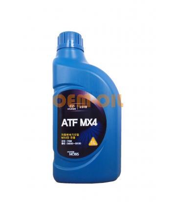 Трансмиссионное масло для АКПП Hyundai ATF MX4 JWS 3314 (1л)