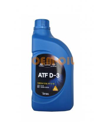 Трансмиссионное масло для АКПП Hyundai ATF D-3 (1л)