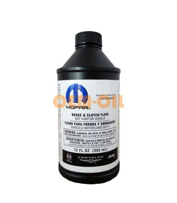 Тормозная жидкость MOPAR DOT-4 (0,355л)