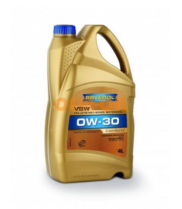 Моторное масло RAVENOL VSW SAE 0W-30 (4л) new