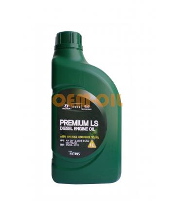 Моторное масло HYUNDAI Premium LS Diesel Engine Oil SAE 5W-30 CH-4 (1л)
