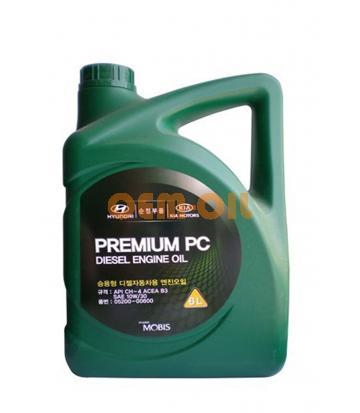 Моторное масло HYUNDAI Premium PC Diesel Engine Oil SAE 10W-30 CH-4 (6л)