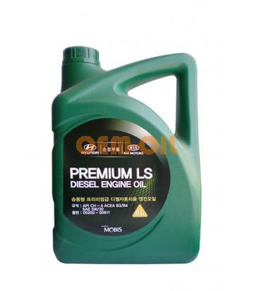 Моторное масло HYUNDAI Premium LS Diesel Engine Oil SAE 5W-30 CH-4 (6л)