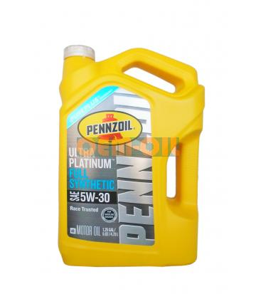 Моторное масло PENNZOIL Ultra Platinum Full Synthetic Motor Oil SAE 5W-30 (Pure Plus Technology) (4,73л)