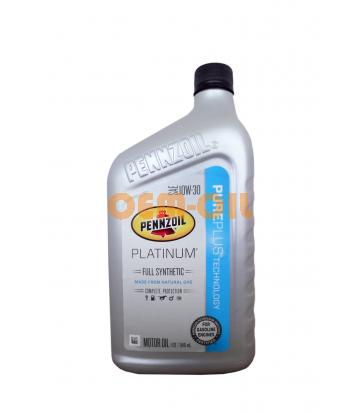 Моторное масло PENNZOIL Platinum Full Synthetic SAE 10W-30 (PURE PLUS TECHNOLOGY) (0,946л)