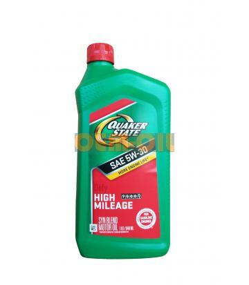 Моторное масло QUAKER STATE Defy High Mileage SAE 5W-30 (0.946л)