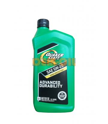 Моторное масло Quaker State Advanced Durability SAE 5W-20 (0,946л)