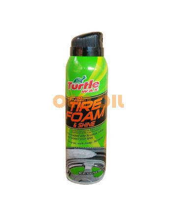 Очиститель шин TURTLE WAX F21 Tire Foam & Shine (510гр)