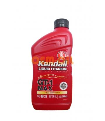 Моторное масло KENDALL GT-1 Full Synthetic Motor Oil with Liquid Titanium SAE 0W-20 (0,946л)