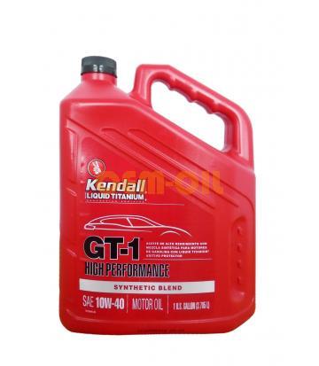 Моторное масло KENDALL GT-1 High Performance SAE 10W-40 (3,785л)