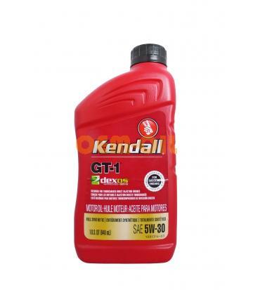 Моторное масло KENDALL GT-1 Dexos1 Motor Oil SAE 5W-30 (0,946л)