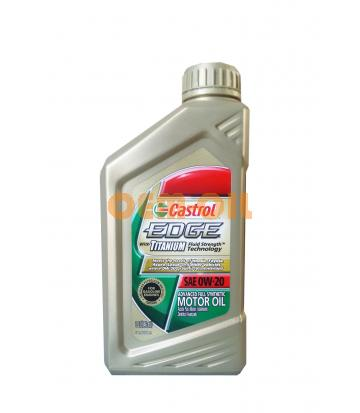 Моторное масло CASTROL EDGE With Titanium Fluid Strength Technology SAE 0W-20 (0,946л)