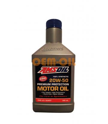 Моторное масло AMSOIL Synthetic Premium Protection Motor Oil SAE 20W-50 (0,946л)