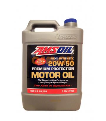 Моторное масло AMSOIL Synthetic Premium Protection Motor Oil SAE 20W-50 (3,784л)
