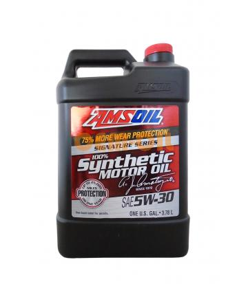 Моторное масло AMSOIL Signature Series Synthetic Motor Oil SAE 5W-30 (3,784л)