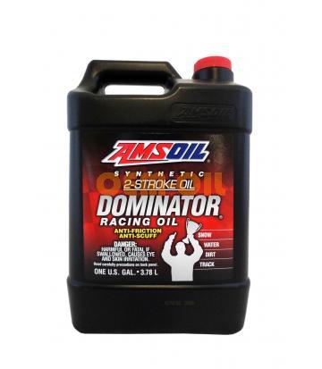 Моторное масло для 2-Такт AMSOIL DOMINATOR® Synthetic 2-Stroke Racing Oil (3,784л)