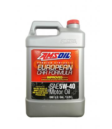 Моторное масло AMSOIL European Car Formula SAE 5W-40 Improved ESP Synthetic Motor Oil (3,784л)