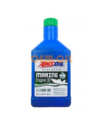 Моторное масло для 4-Такт лод.мот. AMSOIL Formula 4-Stroke Marine Synthetic Oil SAE 10W-30 (0,946л)