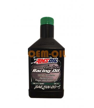Моторное масло AMSOIL DOMINATOR® Synthetic Racing Oil SAE 5W-20 (0,946л)