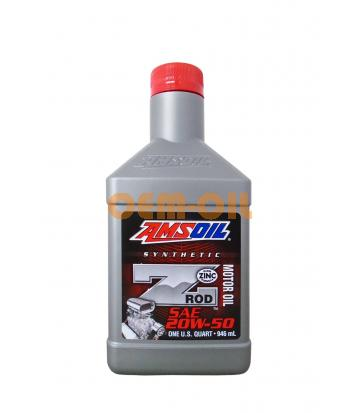 Моторное масло AMSOIL Z-Rod Synthetic Motor Oil SAE 20W-50 (0,946л)