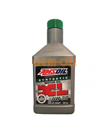 Моторное масло AMSOIL XL Extended Life Synthetic Motor Oil SAE 0W-20 (0,946л)