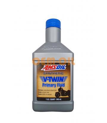 Трансмиссионное масло AMSOIL Synthetic V-Twin Primary Fluid (0,946л)