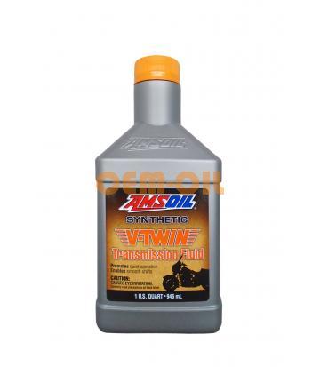 Трансмиссионное масло AMSOIL V-Twin Synthetic Transmission Fluid (0,946л)