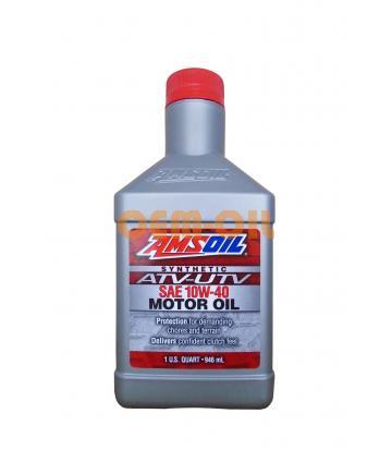 Моторное масло AMSOIL Synthetic ATV/UTV Motor Oil SAE 10W-40 (0,946л)