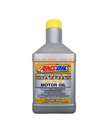Моторное масло AMSOIL Synthetic ATV/UTV Motor Oil SAE 5W-50 (0,946л)