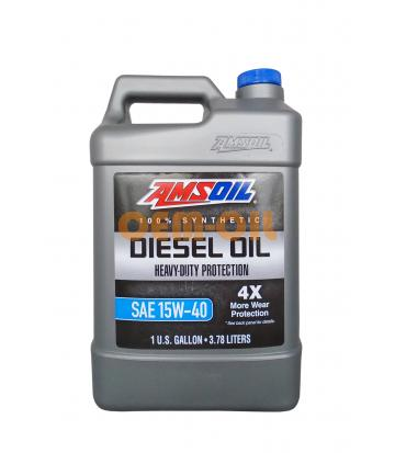 Моторное масло AMSOIL Heavy-Duty Synthetic Diesel Oil SAE 15W-40 (3.78л)