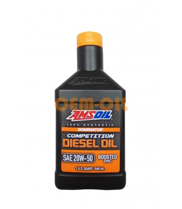 Моторное масло AMSOIL DOMINATOR® Competition Diesel Oil SAE 20W-50 (0.946л)