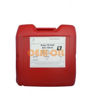 Моторное масло TOTAL Rubia TIR 6400 SAE 15W-40 (20л)