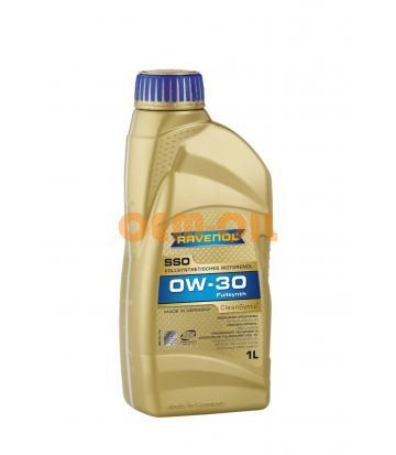 Моторное масло RAVENOL SSO SAE 0W-30 (1л) new
