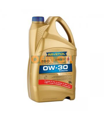 Моторное масло RAVENOL SSO SAE 0W-30 (5л) new